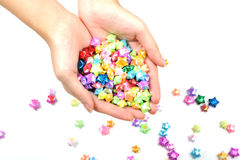 Handful of Wishes Stock Photo