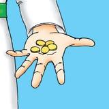 Handfullpengar Royaltyfri Bild