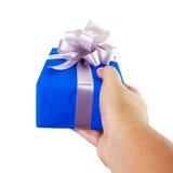 Handgebaar die een gift geven Royalty-vrije Stock Foto