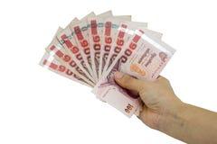Handgeld Royalty-vrije Stock Foto's