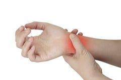Handgelenk-Verletzung Stockfotografie