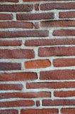 Handgemachte Backsteinmauer Lizenzfreies Stockbild