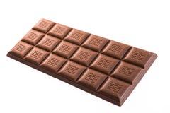 Handgemachte, Bioschokolade lokalisiert auf Weiß Lizenzfreies Stockfoto