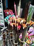 Handgemachte Blumen in Thailand Lizenzfreie Stockbilder