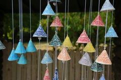 Handgemachte Glocken stockfotos