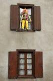 Handgemachte grobe Puppen, CAMPAN, FRANKREICH Stockbilder
