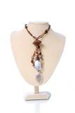Handgemachte Halskette Lizenzfreies Stockfoto