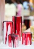Handgemachte Kerze Stockfoto