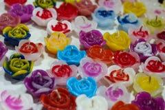 Handgemachte Kerze Lizenzfreies Stockfoto