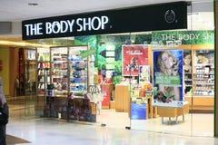 Handgemachte Kosmetik im Forum-Mall Bangalore Lizenzfreies Stockfoto