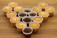 Handgemachte Kuchen Lizenzfreie Stockfotos