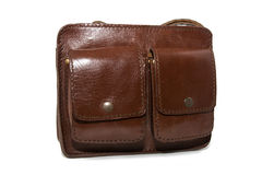 Handgemachte Lederhandtaschen Lizenzfreies Stockbild