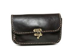 Handgemachte Lederhandtaschen stockfoto