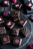 Handgemachte Luxusschokolade Lizenzfreie Stockfotografie