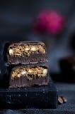Handgemachte Luxusschokolade Stockbild