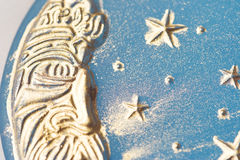 Handgemachte Mondseife Stockfoto