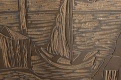 Handgemachte Schablone stock abbildung