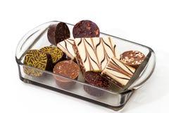 Handgemachte Schokolade Stockfotos