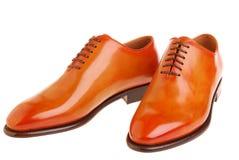 Handgemachte Schuhe stockbild