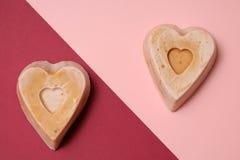 Handgemachte Seife machte mit Liebe lizenzfreie stockbilder