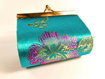 Handgemachte Tasche von Thailand Lizenzfreies Stockfoto