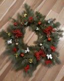 Handgemachte Weihnachtsdekoration stockbilder