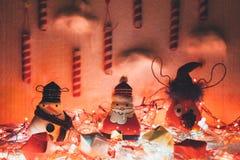 Handgemachte Weihnachtsdekoration Lizenzfreie Stockfotografie