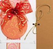 Handgemachte Weihnachtskarte Stockbilder