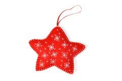 Handgemachte Weihnachtsverzierung Stockbilder
