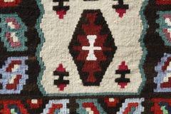 Handgemachte Wolldecke Lizenzfreies Stockbild