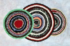Handgemachte Wolldecken Lizenzfreies Stockbild