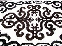 Handgemachte Wolle des Teppichs Lizenzfreies Stockbild