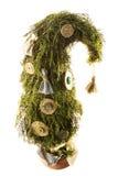 Handgemachter Baum des neuen Jahres Lizenzfreie Stockfotografie