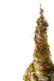 Handgemachter Baum des neuen Jahres Lizenzfreie Stockfotos