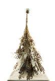 Handgemachter Baum des neuen Jahres Stockfotografie