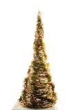 Handgemachter Baum des neuen Jahres Stockfotos