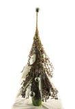 Handgemachter Baum des neuen Jahres Lizenzfreies Stockbild