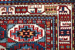 Handgemachter Teppich Azerbajan Stockbild