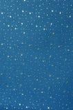 Handgemachtes blauer Stern-Papier Stockfoto