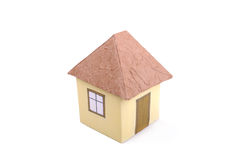 Handgemachtes Haus Lizenzfreies Stockfoto