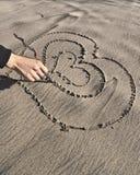 Ausdruck der Liebe Stockbild