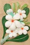 Handgemachtes künstlerisches der Blumentonwaren-Dekoration Lizenzfreie Stockbilder