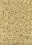 Handgemachtes raues Papier mit Strohen in beige #1 Lizenzfreie Stockfotografie