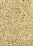 Handgemachtes raues Papier mit Strohen in beige #2 Stockbild