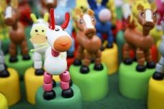 Handgemachtes Spielzeugpferd Stockfotos