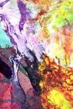 Handgemalte abstrakte Gouachen lizenzfreie stockbilder