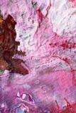 Handgemalte abstrakte Gouachen stockbild
