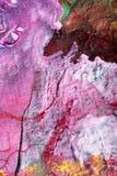 Handgemalte abstrakte Gouachen stockbilder