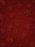 Handgemalte Blumen stockbild