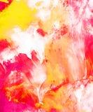 Handgemalter abstrakter Hintergrund stock abbildung